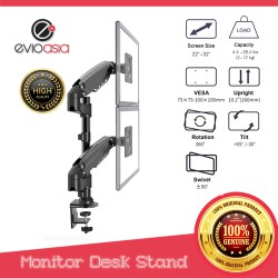 "Dual Monitor Desk Stand 22"" to 32"""