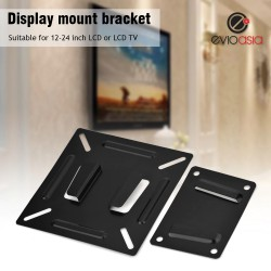 "TV Wall Mount Bracket for 14"" -24"""