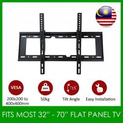 Tilt LED Flat Panel TV Bracket Wall Mount For 32''-70''