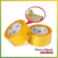 Super Sticky Clear Transparent Tape Fragile Tape 45mm Width x 14mm Thick (TTV01)