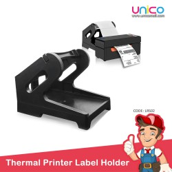 Thermal Printer Label Black Holder -Rolls and Stacks