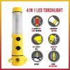 LED Emergency Multifunction  Flashlight / Torchlight