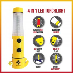 LED Emergency Multifunction  Flashlight / Torchlight
