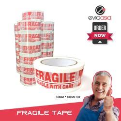 Heavy Duty Adhesive Fragile OPP Packing Tape 50mm x 100meter