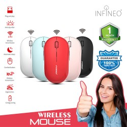 Colourful Wireless Mouse