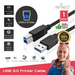 USB 3.0 Printer Cable Type A Male to B Male AM to BM
