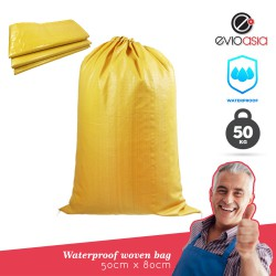 Thickened bright yellow and Moisture-proof Packing Bag