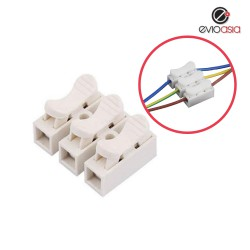 (10units/pack) 3 Pin Electrical Cable Connectors Cable Clip Quick Splice Lock Wire Terminal